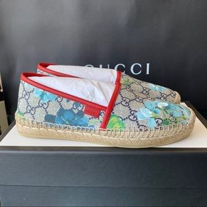 Gucci Women's GG Bloom Supreme Espadrille Flats